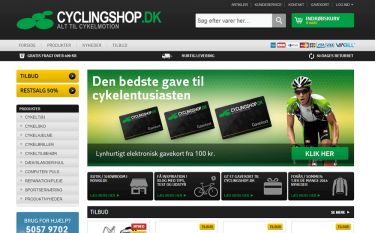 cyclingshop website image 1